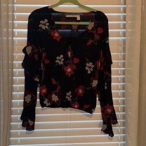 Ruffle Chelsea and Violet Blouse